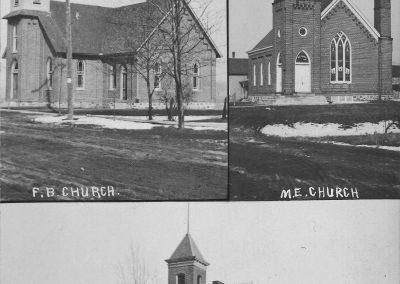 Churches and High School