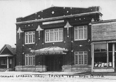 Sycamore Hall 1916